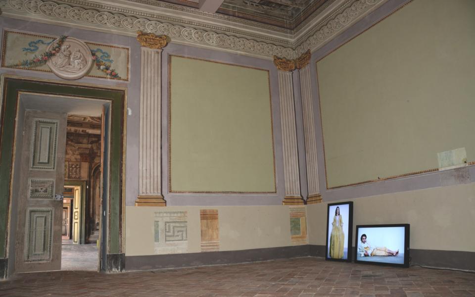 Controtransfert, 2015, Palazzo Candiotti, Foligno photo by Ola Czuba